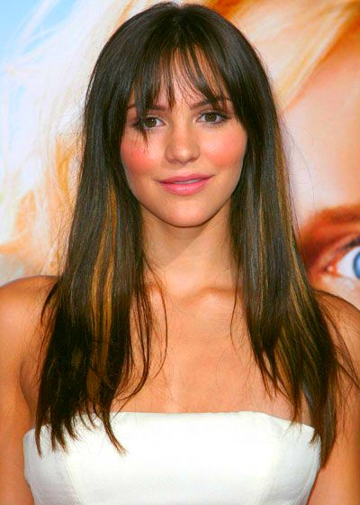 Straight hair style with bangs for you - Hair Style - top haircuts