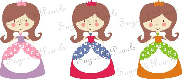 Μικρές πριγκίπισσες-by Sugar & Pearls