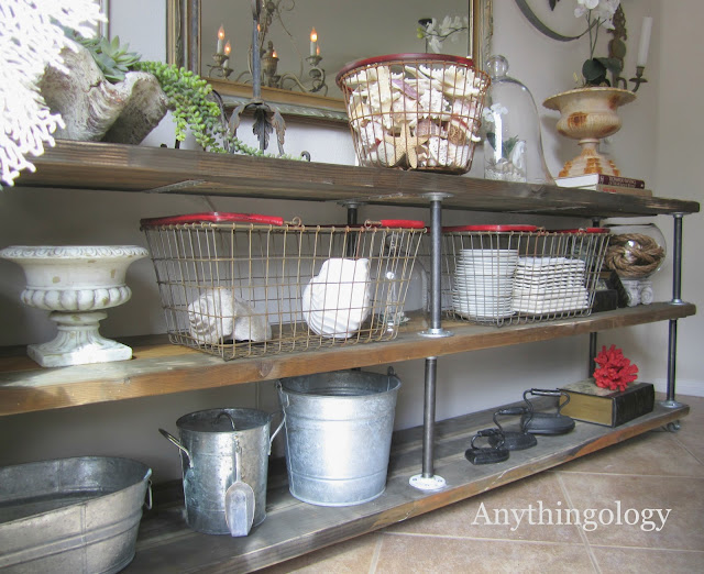 rustic metal - decorating ideas for your country home - the