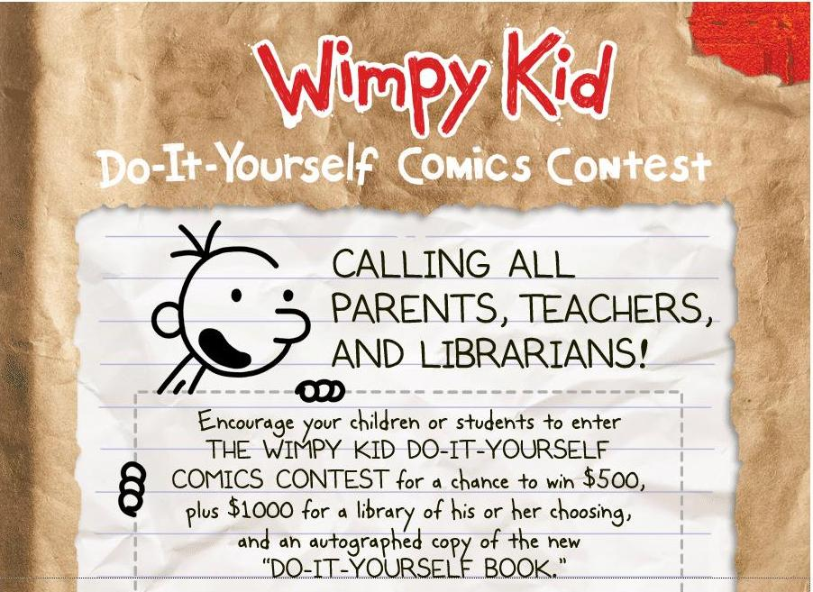 Through the looking glass book review wimpy kid do it yourself wimpy kid do it yourself comics contest solutioingenieria Images
