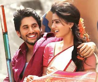 Chaithanya Samantha in gautham menan Telugu movie