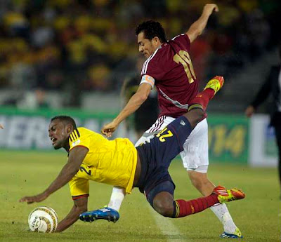 Colombia 1 - 1 Venezuela (1)