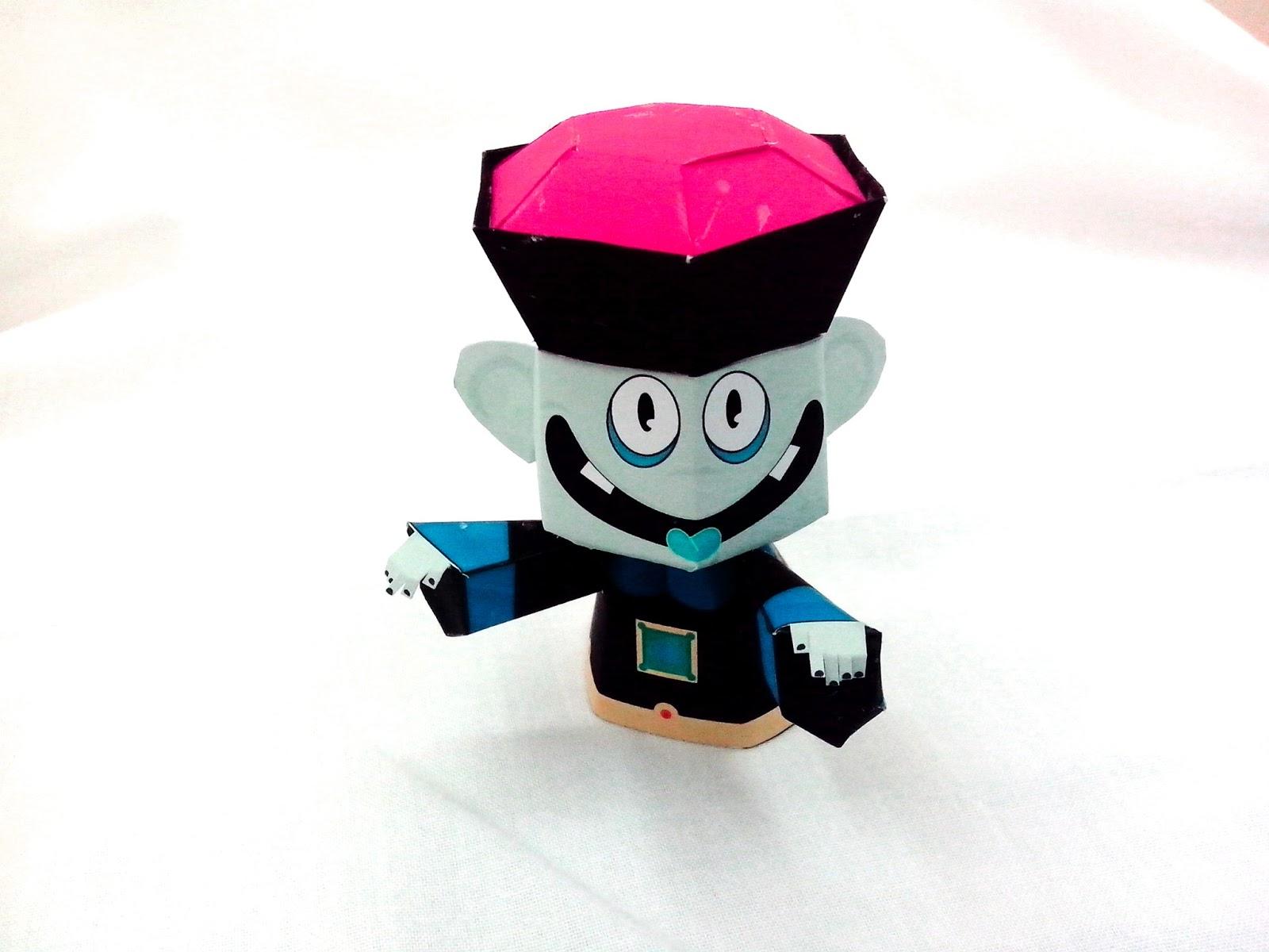 Jiangshi Paper Toy Chinese Vampire