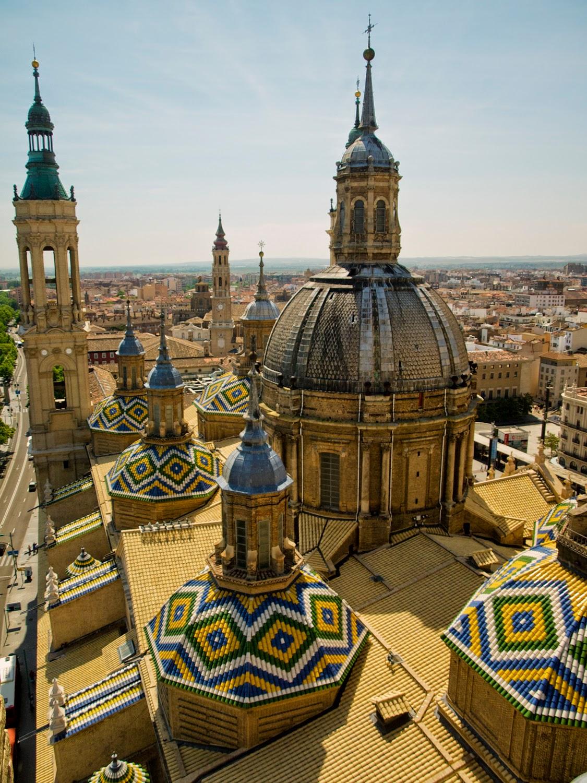 Postales desde zaragoza postcards from zaragoza el - Azulejos el pilar ...