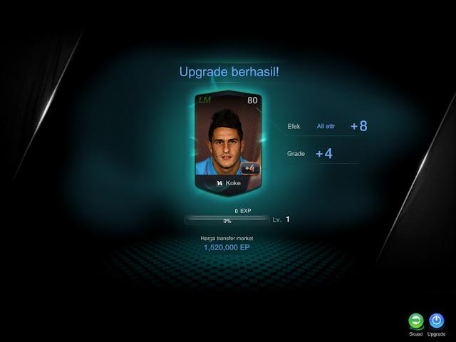 Fifa Online 3 Upgrade pemain +4