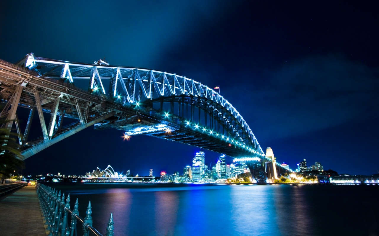 Sydney Harbour Bridge Australia Alaska World Travel Fair