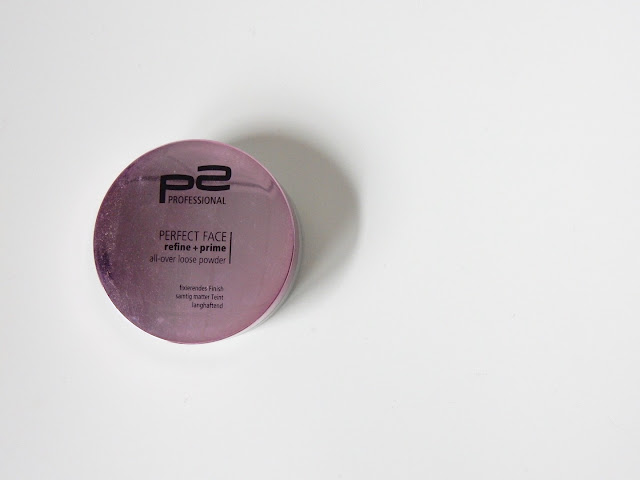 p2 perfect face refine + prime all-over loose powder