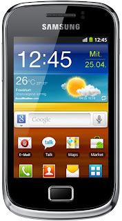 Samsung Galaxy Mini 2 ominaisuudet