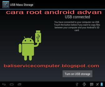 ... cara root advan vandroid T51-A dan 01A menggunakan folder root 1