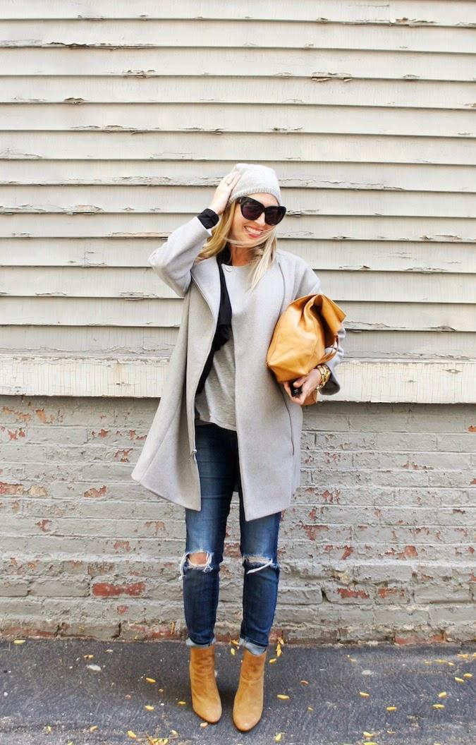 DKNY coat, Zappos shipping