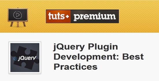 Tutsplus – jQuery Plugin Development Best Practices