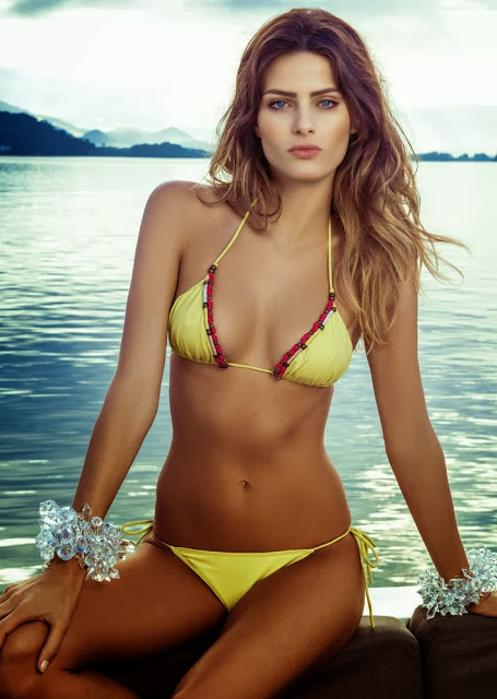 Isabeli Fontana en bikini
