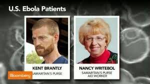 """Sanitarios estadounidenses infectados por el ébola en los que se ha probado el """"suero mágico""""."""