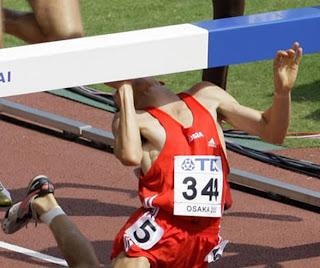Atletismo com barreiras
