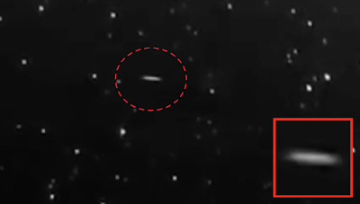 NASA Captures Clear Disc UFO On HD Cam 2015, UFO Sightings
