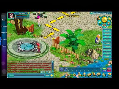Magic Campus - Game Interface