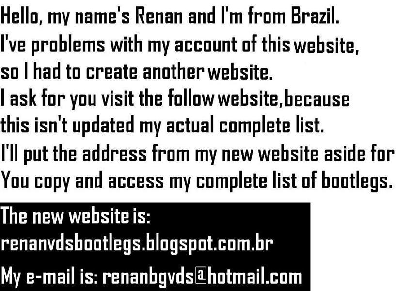 Renan - Bootlegs