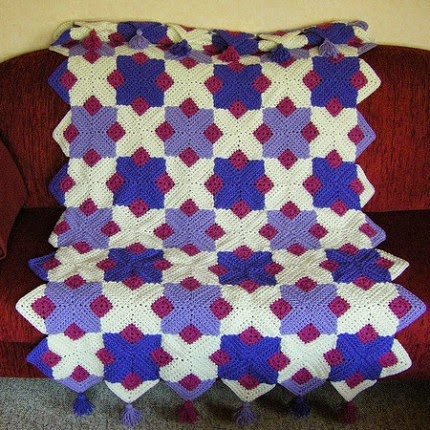 Retro Afghan - Free Pattern