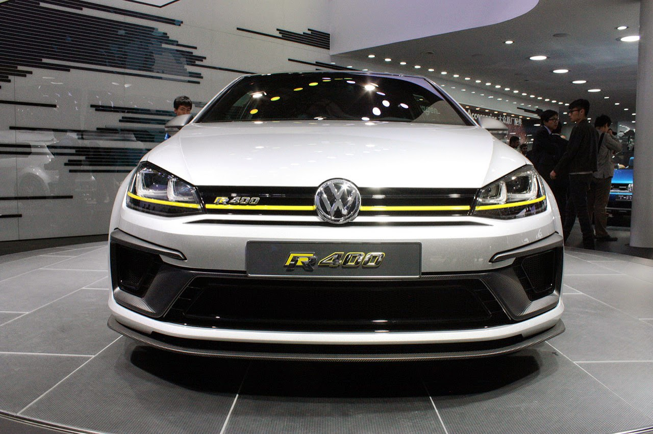 automotiveblogz volkswagen golf r400 concept beijing 2014 photos. Black Bedroom Furniture Sets. Home Design Ideas