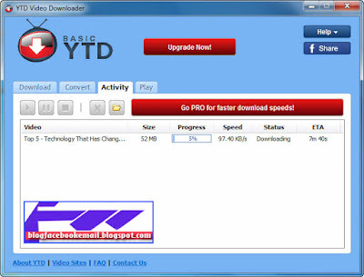 aplikasi untuk download video YTDownloader