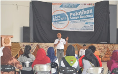 UPI Kampus Purwakarta Menggelar Pelatihan Siaga Bencana