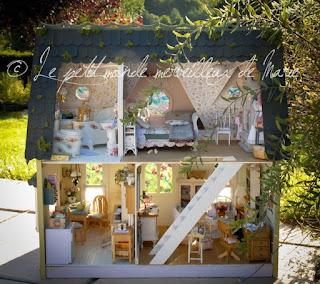Le monde merveilleux de marie dragonfly cottage int rieur for A l interieur des gentils
