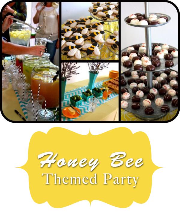 honey bee themed party