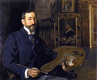 José Moreno Carbonero, Joauín Sorolla