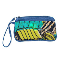 Wristlets african fabric handcrafted fair trade