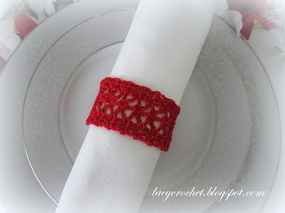 Free Crochet Pattern L0155AD Solid Shell Crochet Jewelry