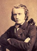 johannes brahms, age 20, c. 1853