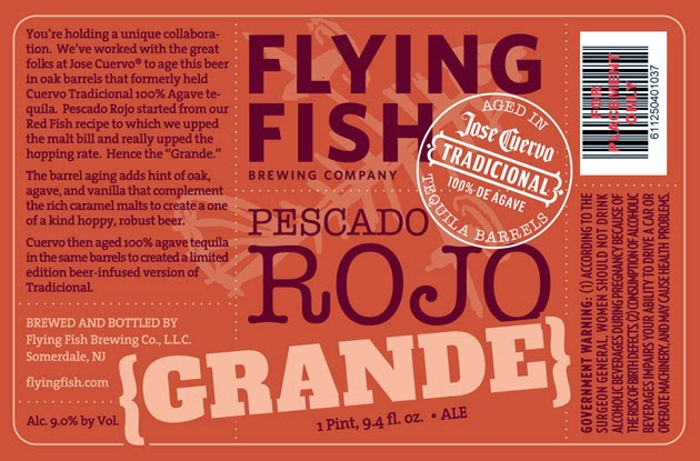 Flying Fish Brewing Company, Pescado Rojo Grande, Craft Beer, New Jersey