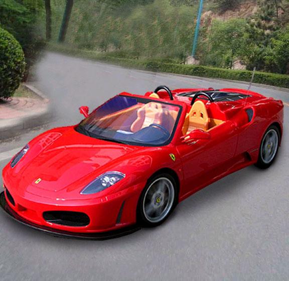 Cenário 3d Ferrari F430 Modelo 3d: Ferrari F430 Spider