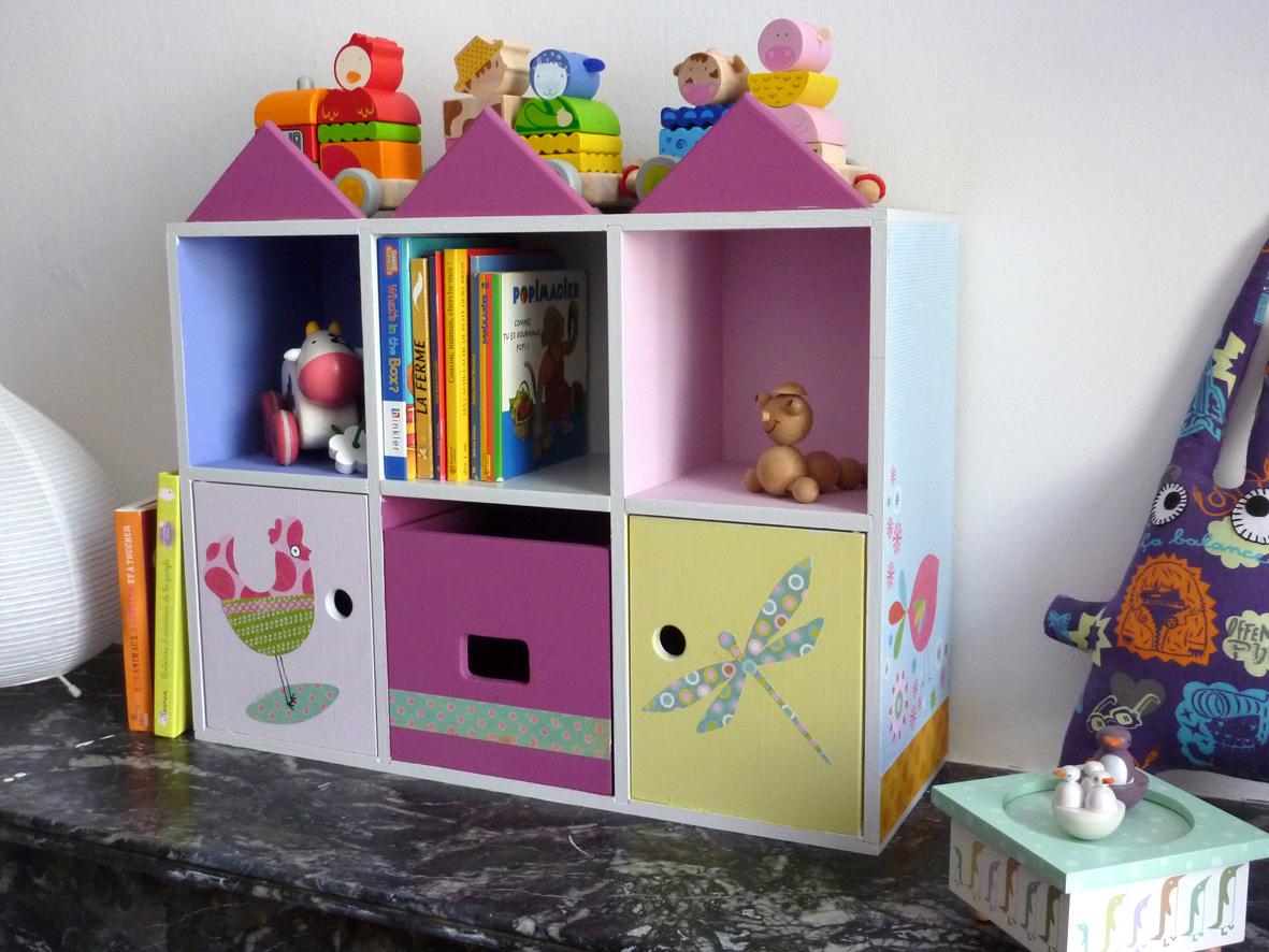 Virnigie bricole une mini biblioth que pour enfant for Bibliotheque chambre enfant
