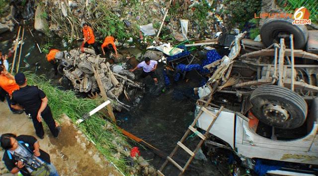 Misteri `Batu Keramat` di Lokasi Kecelakaan Bus Giri Indah
