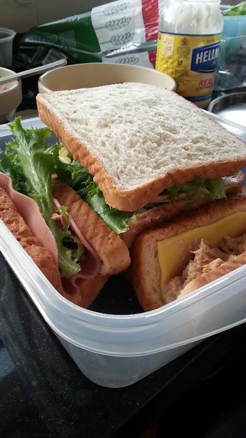 picnic bacon sandwich