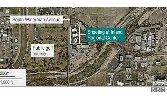 14 dead in San Bernardino shooting and 17 injured