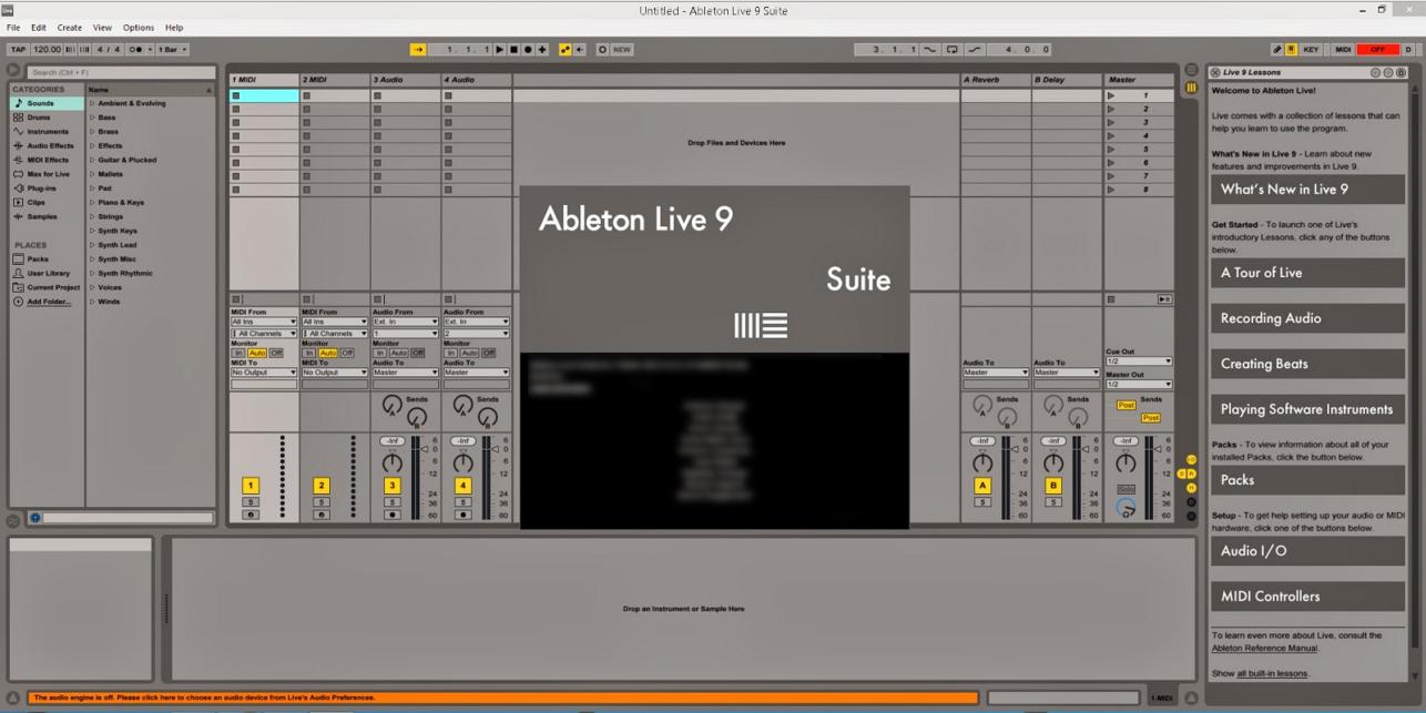 Ableton Live Suite v9.5 WiN x86 x64