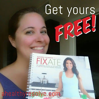 Find out how to get your copy of Autumn's new Fixate cookbook for FREE!
