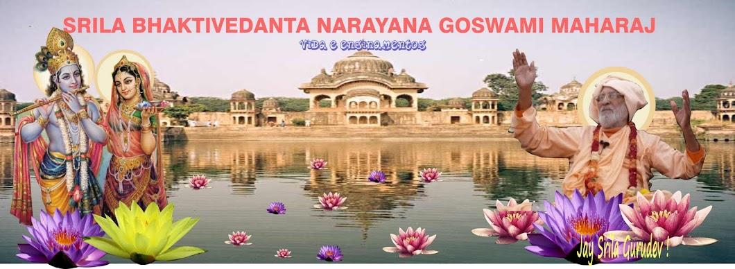 Srila   BV   Narayana   Goswami   Maharaj