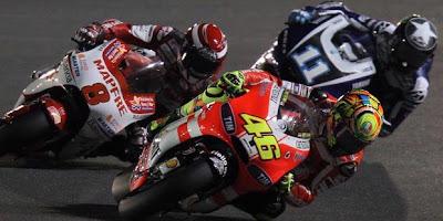 Hasil  MotoGP Losail Qatar 2011