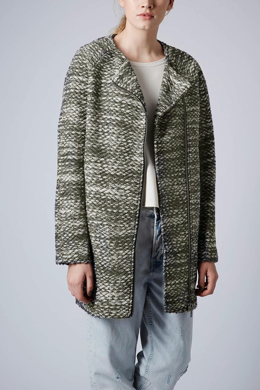 topshop grey coat