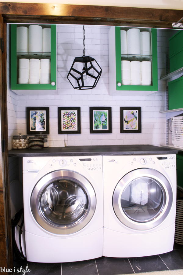 Laundry Room Linen Closet Design Organization