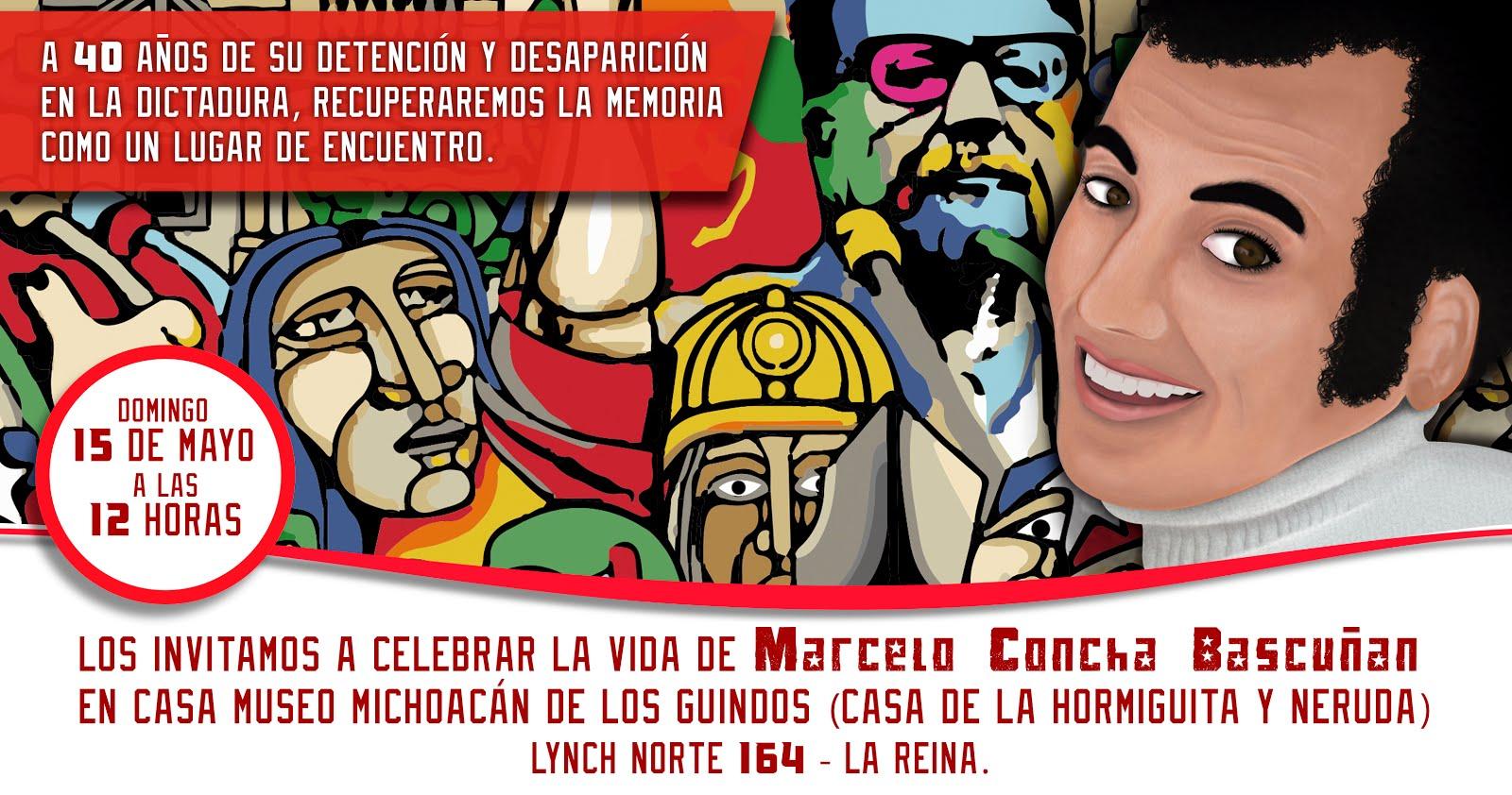 Acto de homenaje a Marcelo Concha Bascuñán.