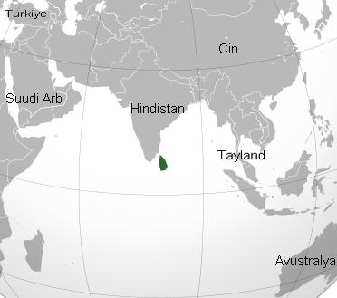 Sri Lanka Nerede - Sri Lanka Nerde - Srilanka Dünyanın Neresinde