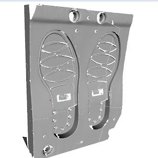Moldes en aluminio digitalizado con el escáner Range7