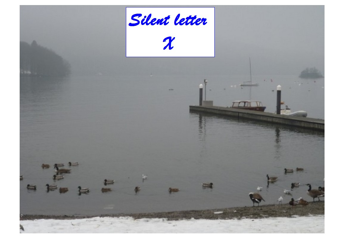Silent Letter X Silent Letters In English Words