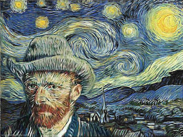 Van Gogh, Pilatos reencarnado, quadro de Van Gogh, autoretrato