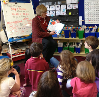 Russell's Grandma Reads to the Class!