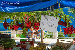 Hot Chilly Peppers: Salento's viagra!